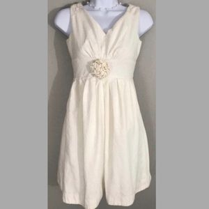 Lily Pulitzer White Dress Flower Detail 0 A1 0011
